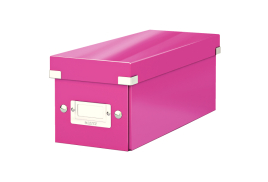 Leitz Click And Store CD Storage Box (Pink)