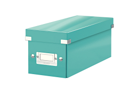 Leitz Click And Store CD Storage Box (Ice Blue)