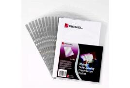 Rexel Nyrex (A4) Reinforced Side Opening Presentation Pockets Pack of 25)