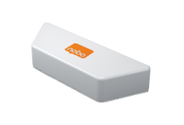 Nobo Magnetic Whiteboard Eraser (White)