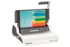 Fellowes Pulsar+ 300 (A4) Comb Binding Machine with Starter Kit