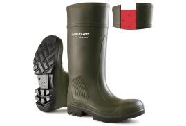 Dunlop Purofort Professional (Size 5) Wellington Boots (Olive Green)