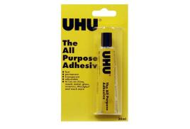 UHU (35ml) All Purpose Adhesive in a  Blister Pack (Pack of 10)