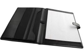 Monolith Leather Look (A4) Conference Folder with Note Pad
