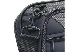 Monolith Nylon Laptop Messenger Bag (Black/Grey)