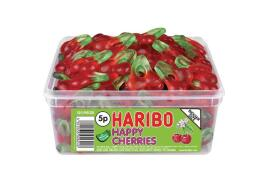 Haribo Giant Happy Cherries Tub (Single)