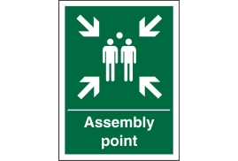 Stewart Superior SP052SAV Self Adhesive Vinyl Sign (150x200) - Assembly Point