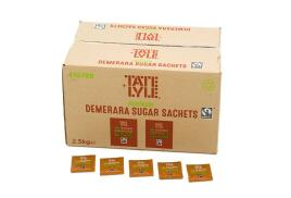 Tate And Lyle Tate and Lyle Demerara Sugar Sachets (Pack of 1000)