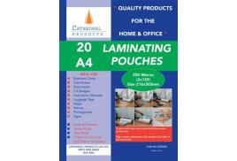 Cathedral (A4) Laminating Pouch 250 Microns (Pack 20)