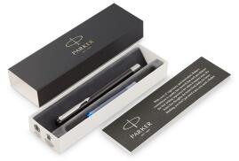 Parker Vector Standard Fountain Pen Durable with Stainless Steel Nib and Trim (Black)