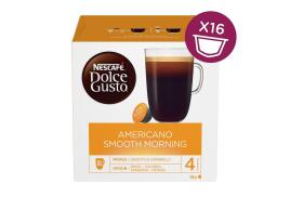 Nescafe Dolce Gusto Americano Smooth Morning Capsules (3 x Pack of 16 Capsules making 48 Drinks)