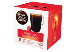Nescafe Dolce Gusto Americano Bold Morning Capsules (3 x Pack of 16 Capsules making 48 Drinks)