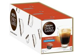 Nescafe Dolce Gusto Caffe Lungo Decafeinated Coffee (3 x Packs Making 48 Drinks)