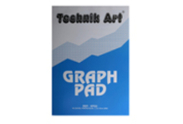Technik Art Graph Pad A4 5mm Quadrille 40 Leaf (Pack of 10)