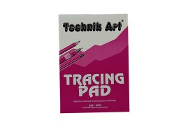 Technik Art Tracing Pad 63gsm 40 Sheets A4 Ref XPT4Z