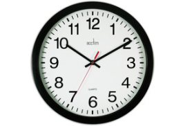 Acctim Controller (36.8cm) Wall Clock (White