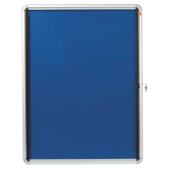 Nobo Internal Glazed Case Fabric fits 9 x A4 Sheets Image