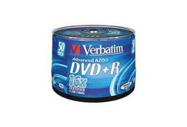 Verbatim (4.7GB) DVD+R 16x Matt Silver Spindle (Pack of 50)