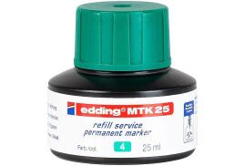 Edding MTK 25 (25ml) Refill Ink (Green) for Permanent Markers