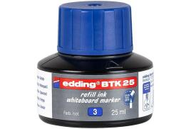 Edding BTK 25 (25ml) Refill Ink (Blue) for Whiteboard Markers