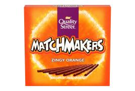 Nestle Quality Street Matchmakers (120g) Chocolate Sticks (Zingy Orange)