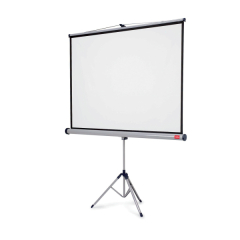 Nobo Professional (2000x1310mm) Tripod Widescreen Projection Screen for Digital Projectors or Overhead Projectors Image