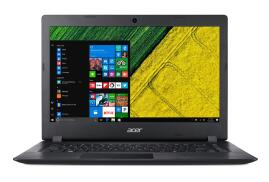 Acer Aspire 3 A314-31 (14 inch) Notebook PC Pentium (N4200) 1.1GHz 4GB 128GB SSD WLAN BT Webcam Windows 10 Home (HD Graphics 505) Black