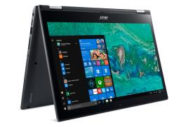 Acer Spin 3 SP314-51 (14 inch Touchscreen) 2-in-1 PC Pentium Gold (4415U) 2.3GHz 4GB 1TB WLAN Webcam Windows 10 Home (HD Graphics 610) Iron