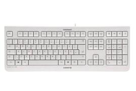 CHERRY KC 1000 Wired USB Keyboard (Pale Grey) - UK