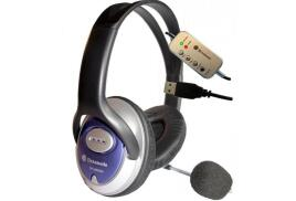 Dynamode DH-660-USB USB Stereo Headphone and Microphone