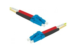 Hypertec ProConnect Lite 9/125 Duplex OS2 (2m) 1 x LC-UPC Male to 1 x LC-UPC Male Fibre Optic Cable (Yellow)