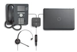 Plantronics MDA490 QD Analog Switch for Quick Disconnect (QD) Headsets