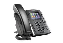 Polycom VVX 411 12-Line Gigabit Ethernet Business Media Phone with HD Voice. PoE,  Including Lync License