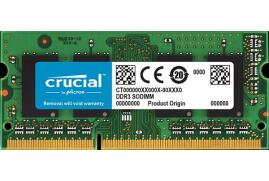 Crucial 4GB Memory Module PC3-14900 1866MHz DDR3L Unbuffered Non-ECC CL13 204-pin SODIMM