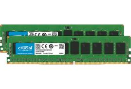 Crucial 16GB Memory Kit (2x8GB) PC4-21300 2666MHz DDR4 Unbuffered Non-ECC CL19 UDIMM (Single Ranked)