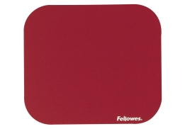 Fellowes Solid Mouse Pad (Red) Ref 58022-06