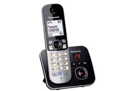 Panasonic KX-TG6821EB Single DECT Cordless Telephone with Large 1.8 inch LCD  with 120 Name and Number Phonebook