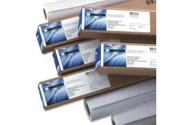 HP (610mm x 45.7m) 95g/m2 Original Matte Inkjet Large Format Universal Coated Paper (White) Pack of 1 Roll