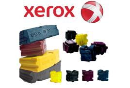 Xerox ColorStix Black (Yield 6,000 Pages) Solid Ink Sticks Pack of 6