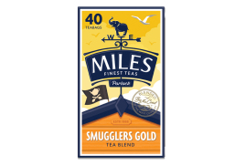 Miles 40 Smugglers Gold Tea Bags