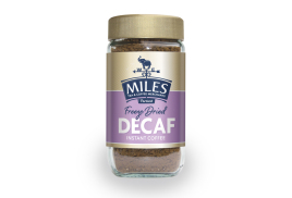 Miles 100g Decaffeinated Instant Coffee