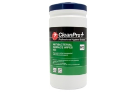 Clean Pro+ Antibacterial Surface Wipes (150 Wipes)