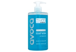 Avoca Original Moisturising Anti-Bacterial Handwash 500ml (Without Pump) - 4 for 3 Offer