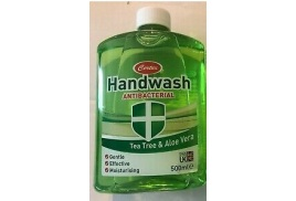 Certex Anti-bacterial Handwash Tea Tree / Aloe Vera 500ml - 4 for 3 Offer