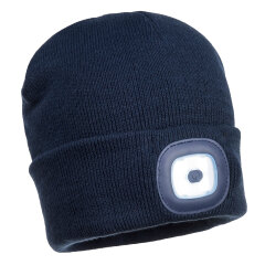 Rechargeable LED Beanie (Colour: Navy) Image