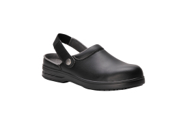 Safety Clog 34/1 (Colour: Black, Size: 34)