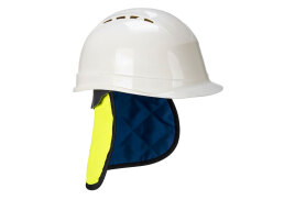 Cooling Crown With Neckshade (Colour: Yellow/Blue, Fitment: L)
