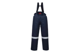 Araflame Insulated Salopettes (Colour: Navy, Size: Medium)