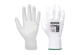 PU Palm Glove (Colour: White, Size: Large)