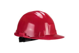 Workbase Safety Helmet (Colour: Red)